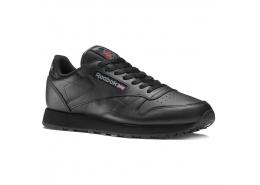 Classic Leather Erkek Siyah Günlük Spor Ayakkabı