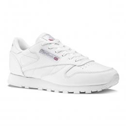 Classic Leather Kadın Beyaz Spor Ayakkabı