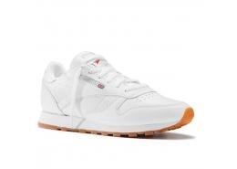Classic Leather Kadın Beyaz Spor Ayakkabı (49803)
