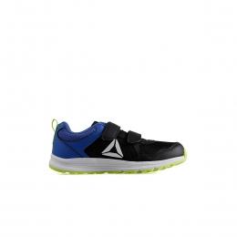 Almotio 4.0 2V Çocuk Siyah Spor Ayakkabı