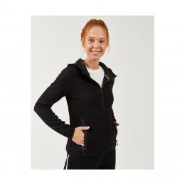 2X I-Lock Printed Kadın Siyah Sweatshirt (S202061-001)