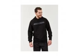 Fleece Logo Printed Erkek Siyah Sweatshirt (S202078-001)