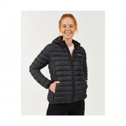 Outerwear Padded Lightweight Kadın Siyah Mont (S202117-001)