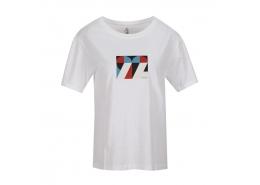 Graphic M Crew Neck Kadın Beyaz Tişört  (S211160-100)