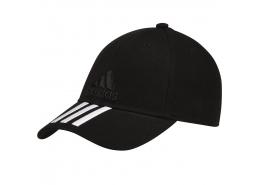 Six-Panel Classic 3-Stripes Siyah Şapka