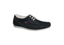 Nubuk Deri Erkek Lacivert Günlük Ayakkabı (M5160NL)