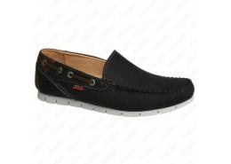 Nubuk Deri Erkek Siyah Günlük Ayakkabı (M5161NS)
