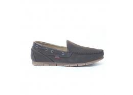 Nubuk Deri Erkek Kahverengi Günlük Ayakkabı (M5161NKA)