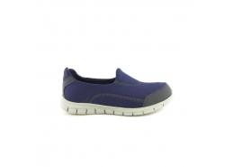 Bağcıksız Kadın Lacivert Sneaker Ayakkabı (Z5480TL)