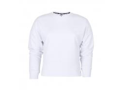 Lightweight Fleece W Low Kadın Beyaz Sweatshirt