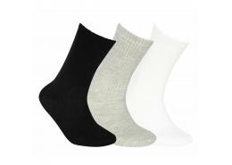 U Skx Nopad Crew Cut Socks 3 Pack