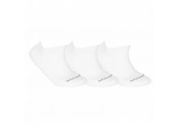 U Skx Padded 3 Çift Beyaz Kısa Çorap (S192137-100)