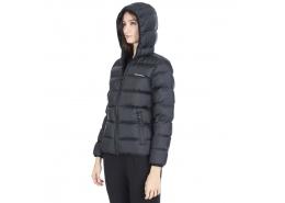 Skechers W Mid Filled Jacket Kadın Siyah Mont