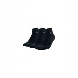 Dri-Fit Cushion Quarter 3 Çift Kısa Siyah Çorap (SX4835-001)