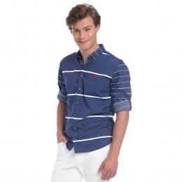 Erkek Mavi Gömlek (AVİL-257849-VR033)