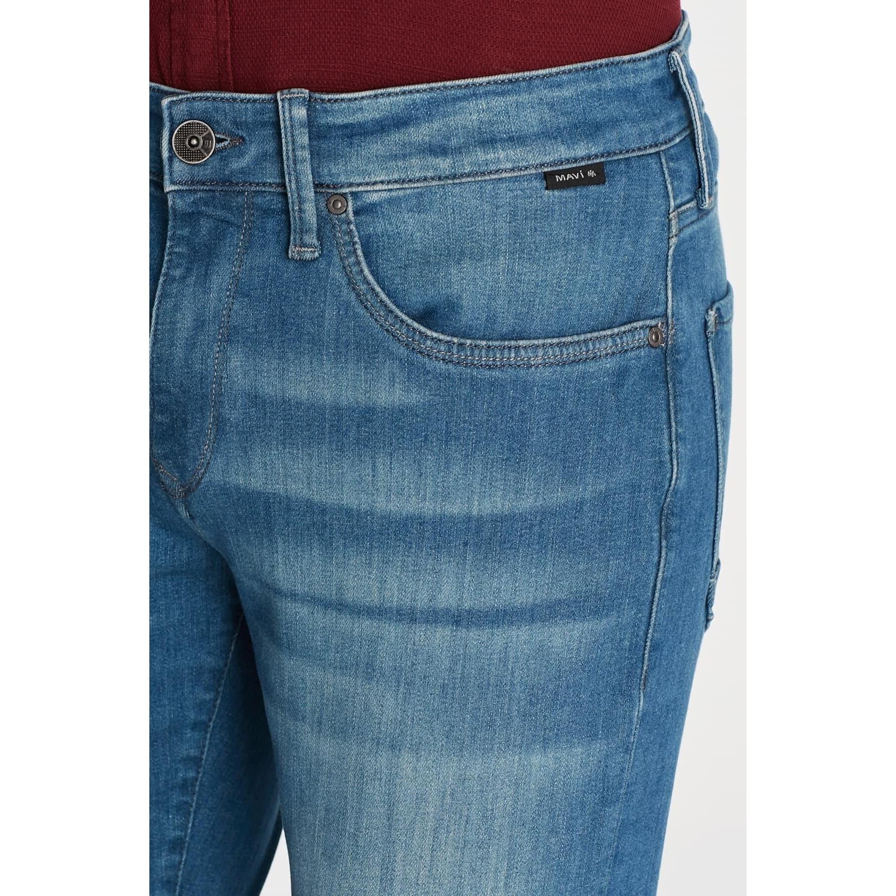 Marcus Erkek Açık Mavi Black Jean Pantolon