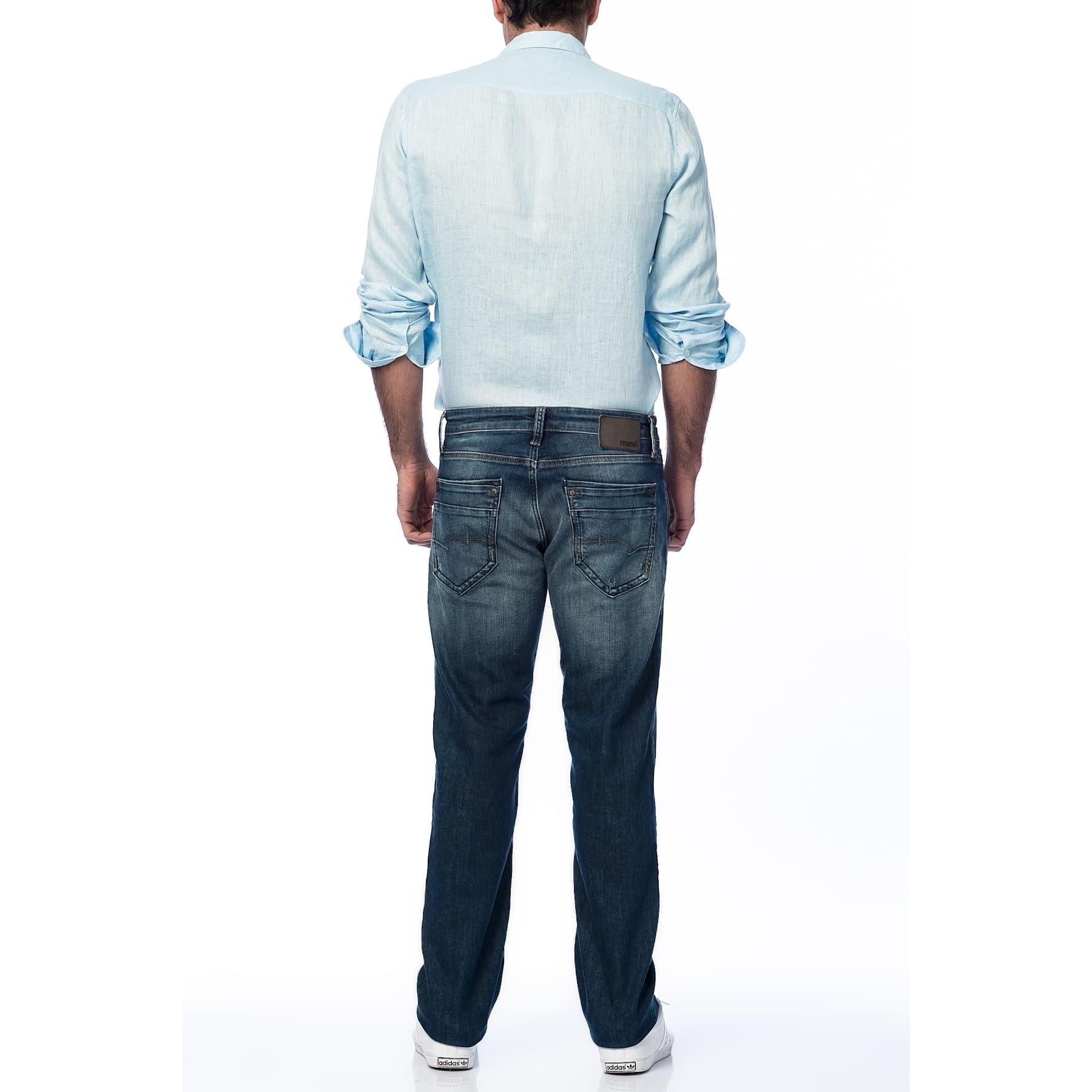 Martin Erkek Koyu Amsterdam Kot Pantolon