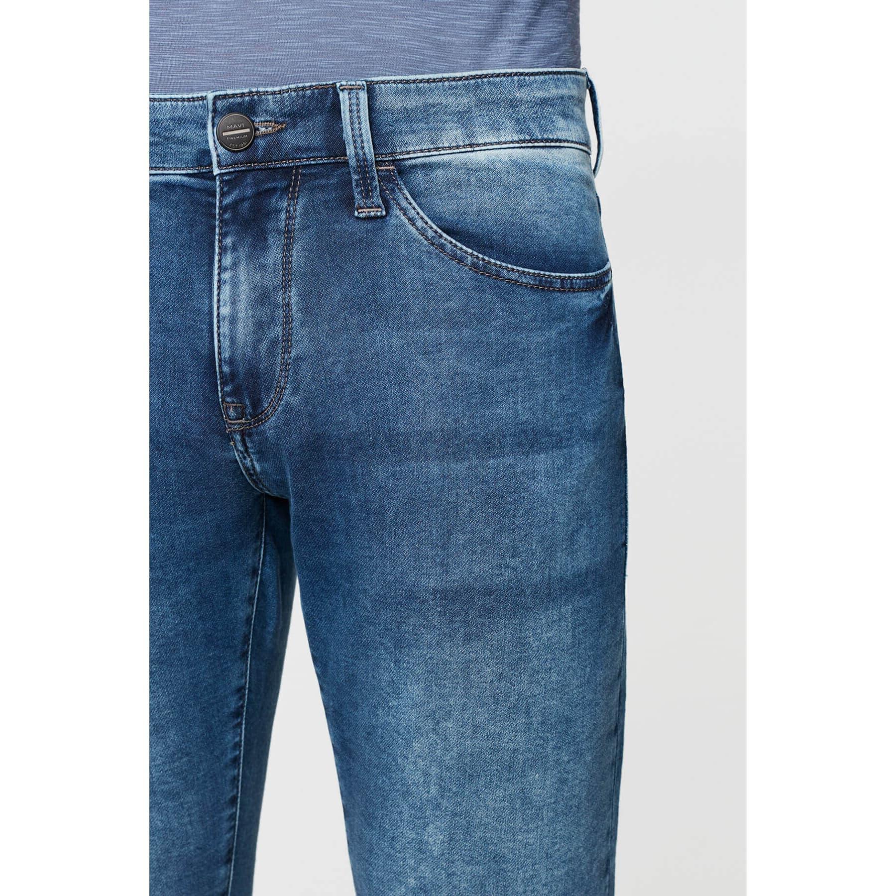 Jake Mavi Sporty Erkek Jean Pantolon