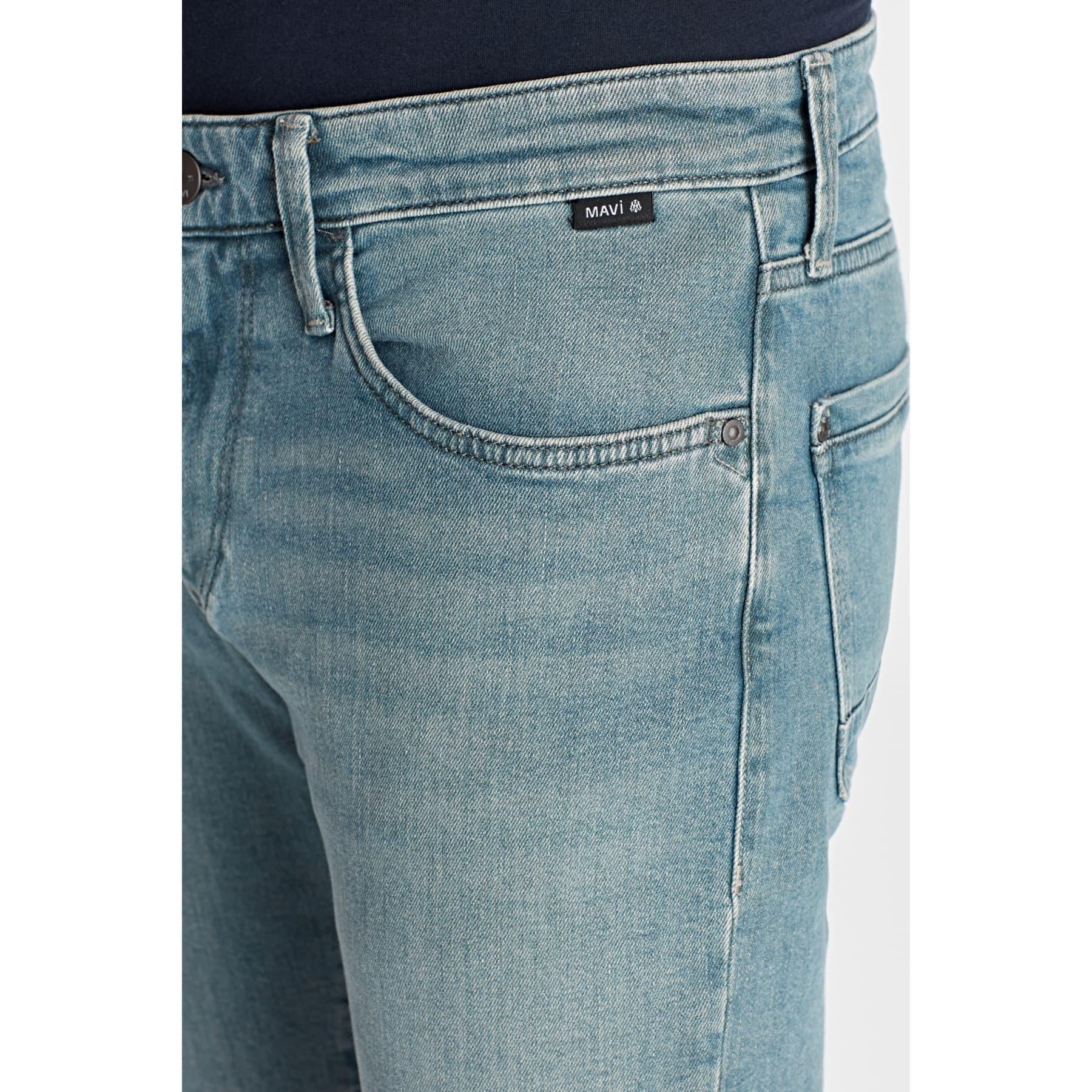 Jake Black Erkek Mavi Jean Pantolon