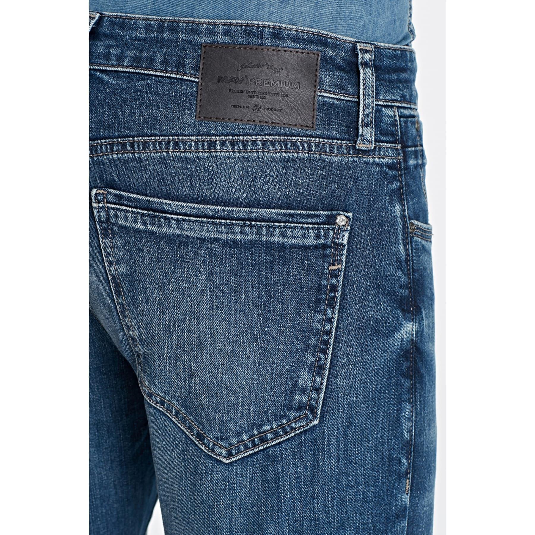 Jake Mavi Premium Vintage Jean Pantolon