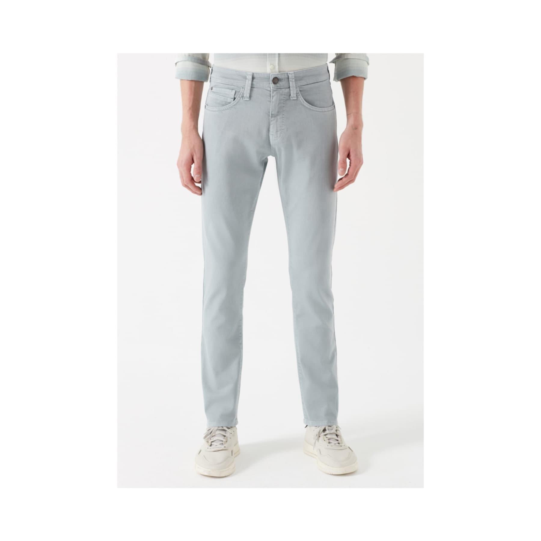 Jake Buz Gri Erkek Gabardin Pantolon (0042231244)