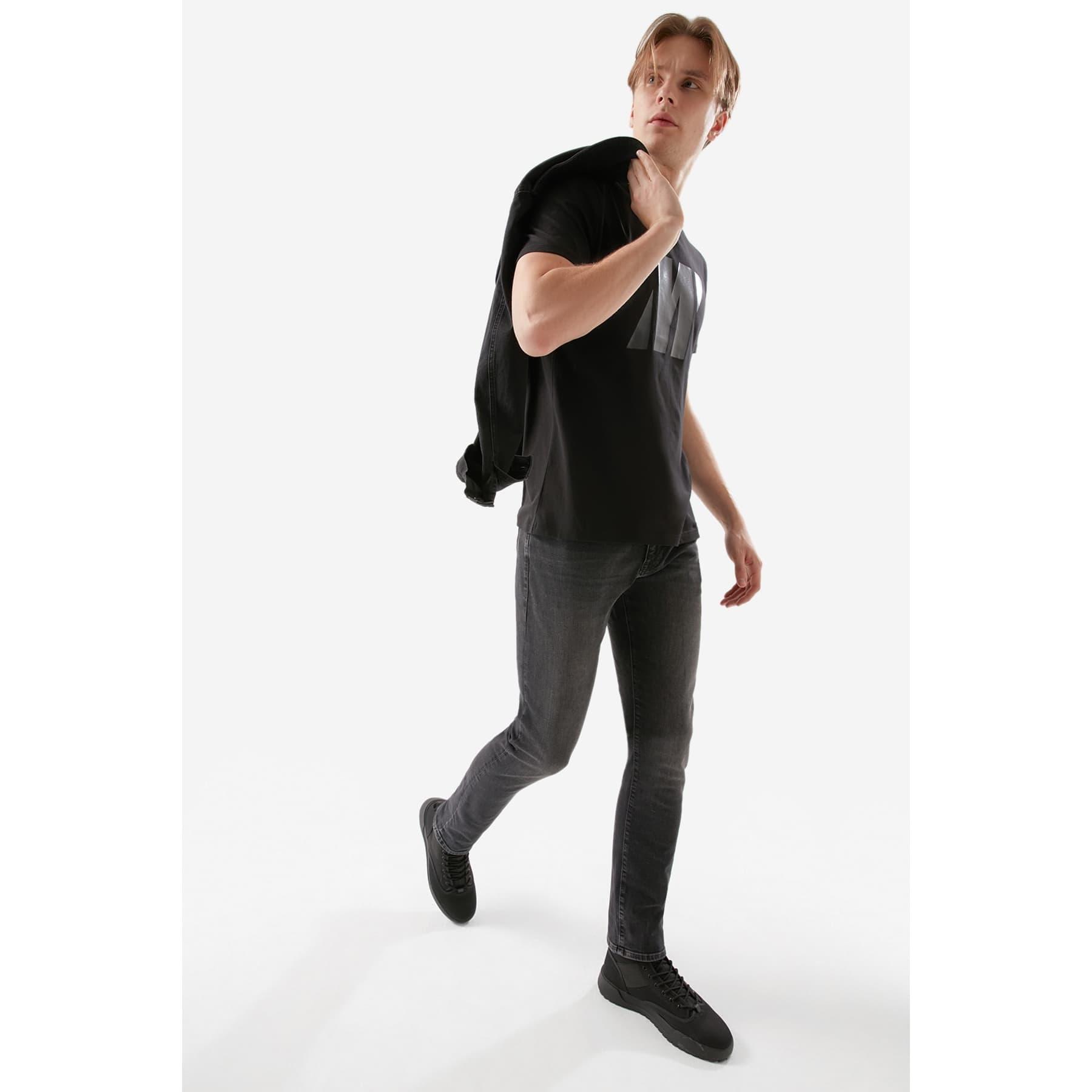 Pro Serisi Jake Gri Erkek Jean Pantolon