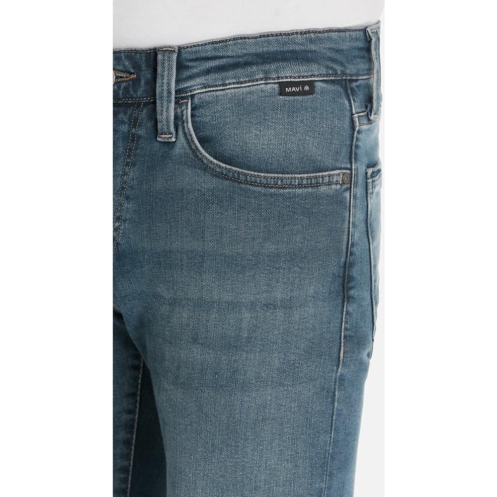 James Black Erkek Mavi Kot Pantolon