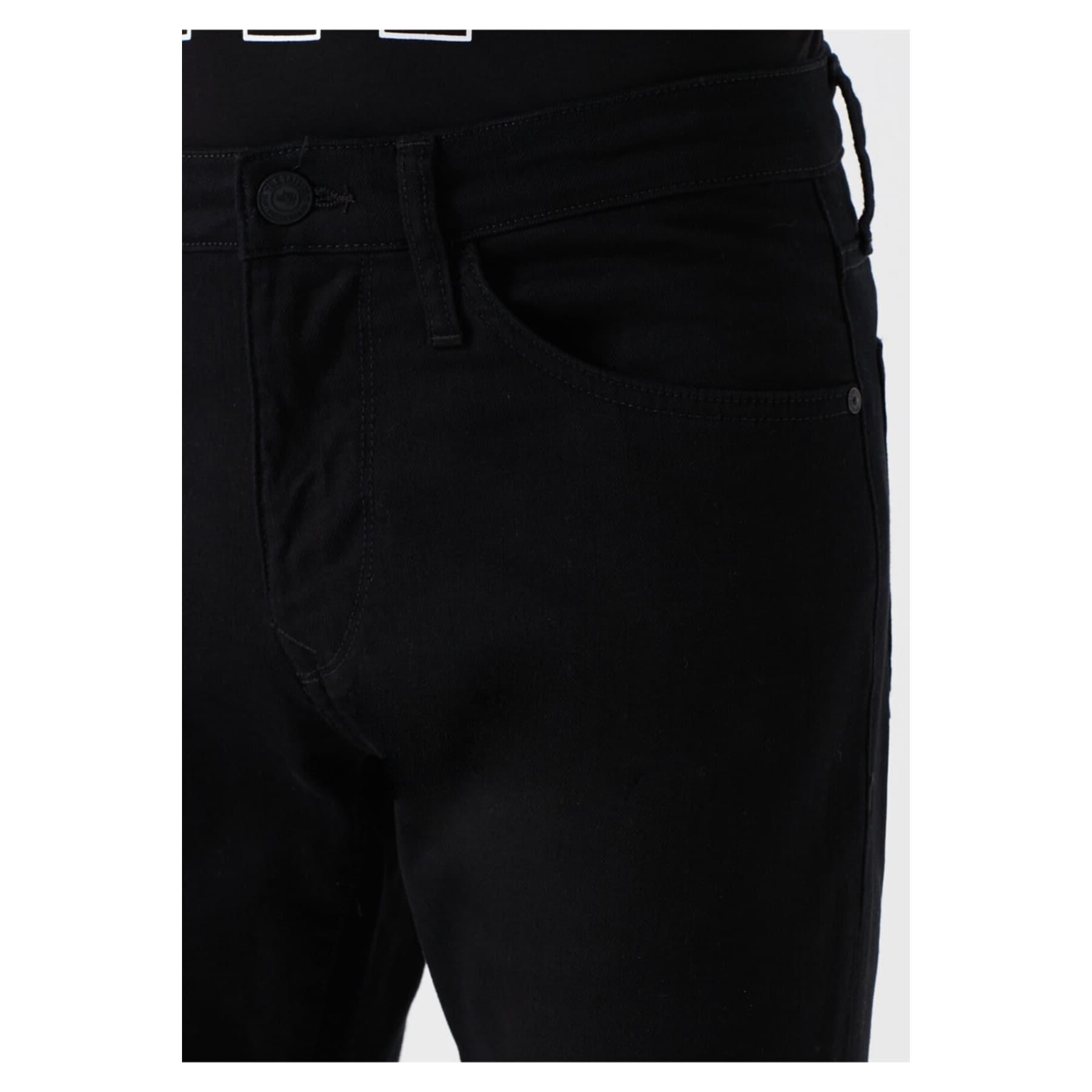 Leo Erkek Siyah Jean Pantolon