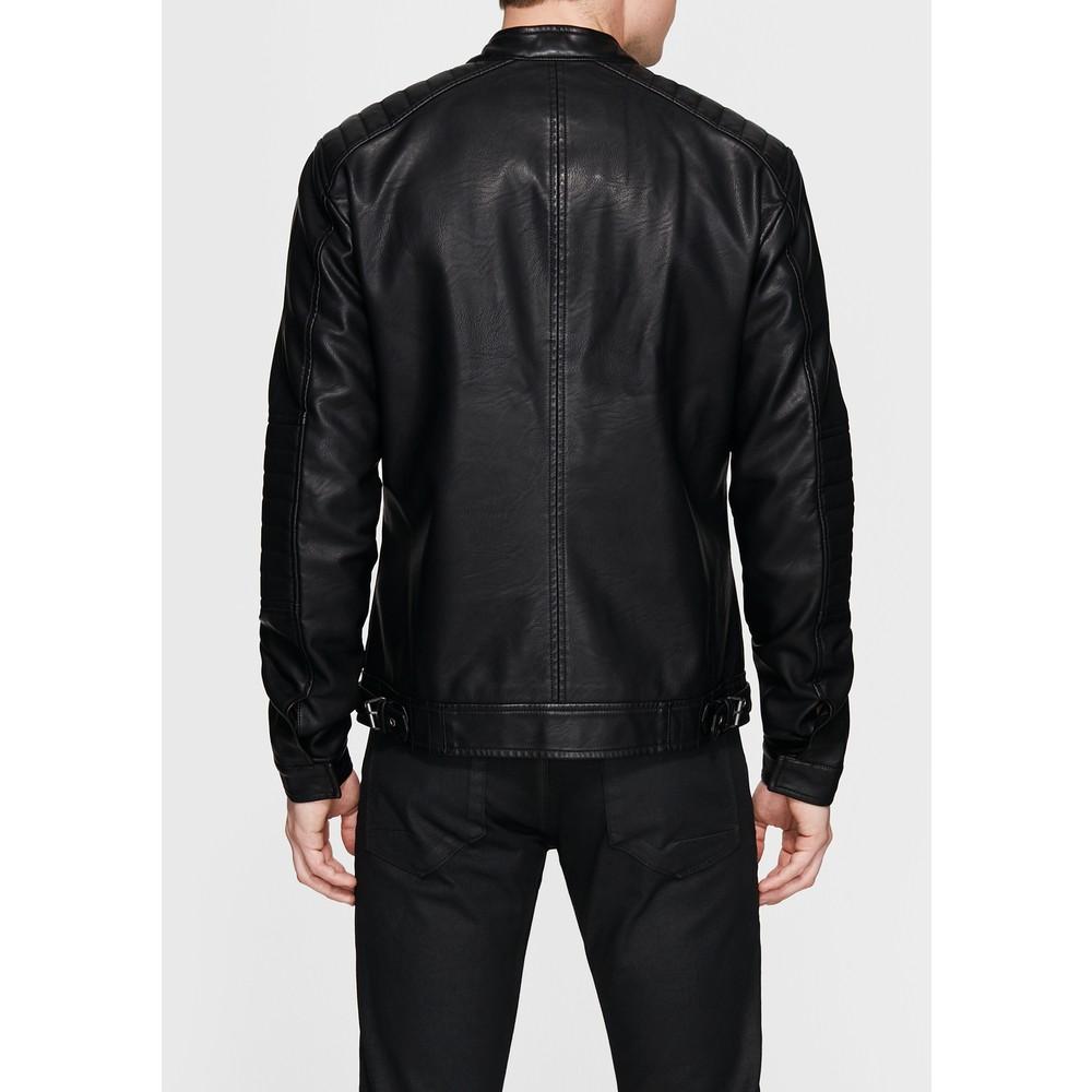 Suni Deri Erkek Siyah Ceket (010050-900)
