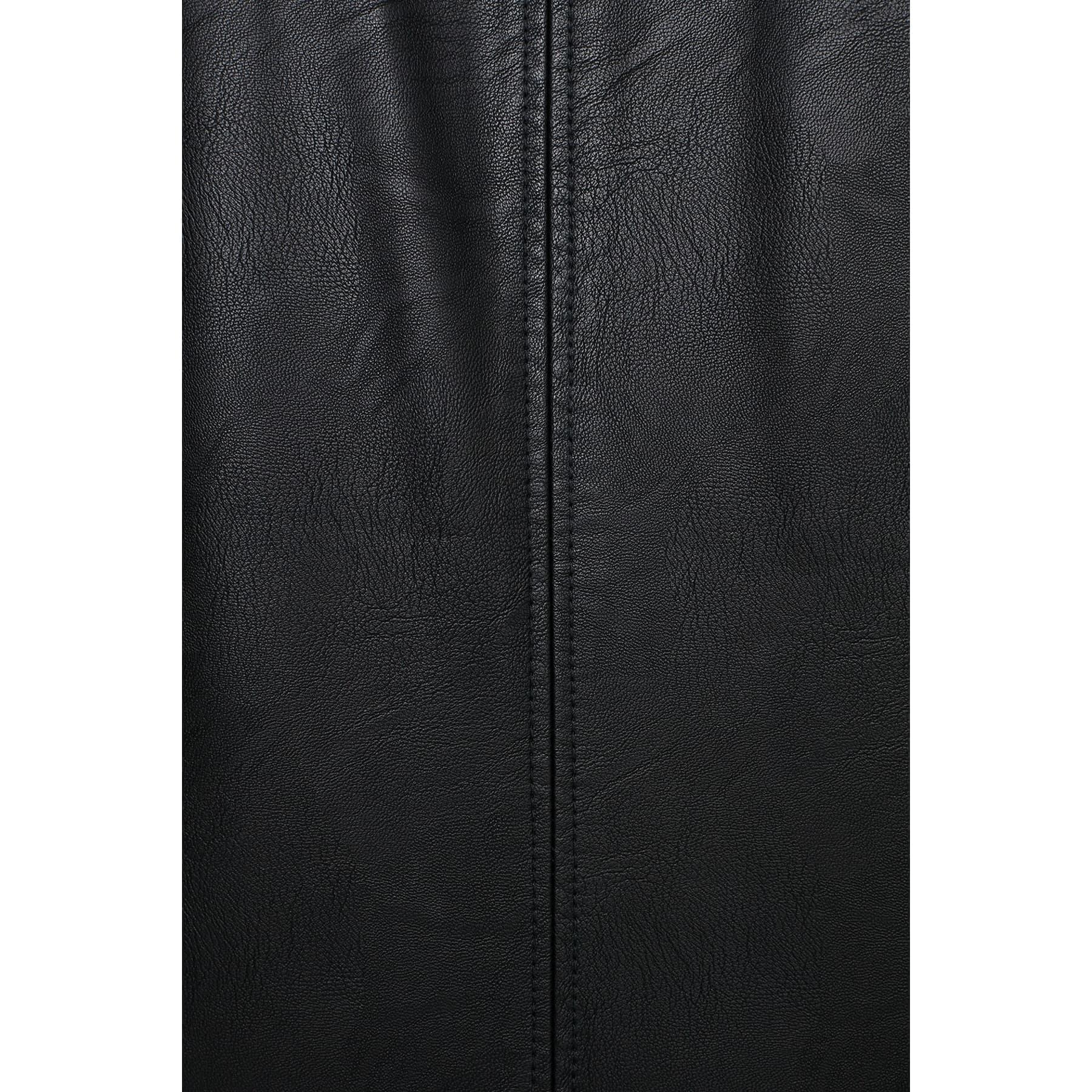 Mavi Jeans Suni Deri Erkek Siyah Ceket