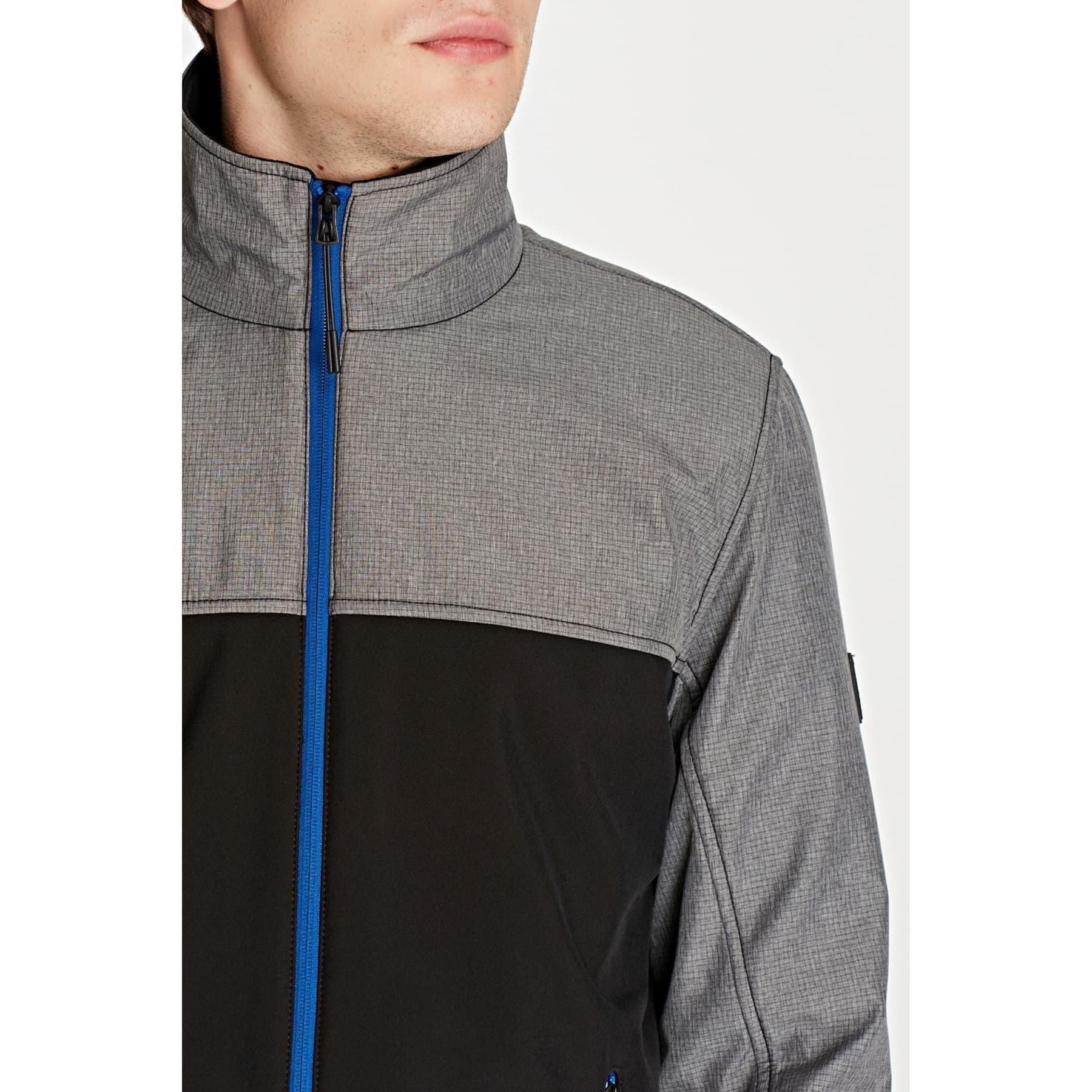 Dik Yakali Ceket Siyah