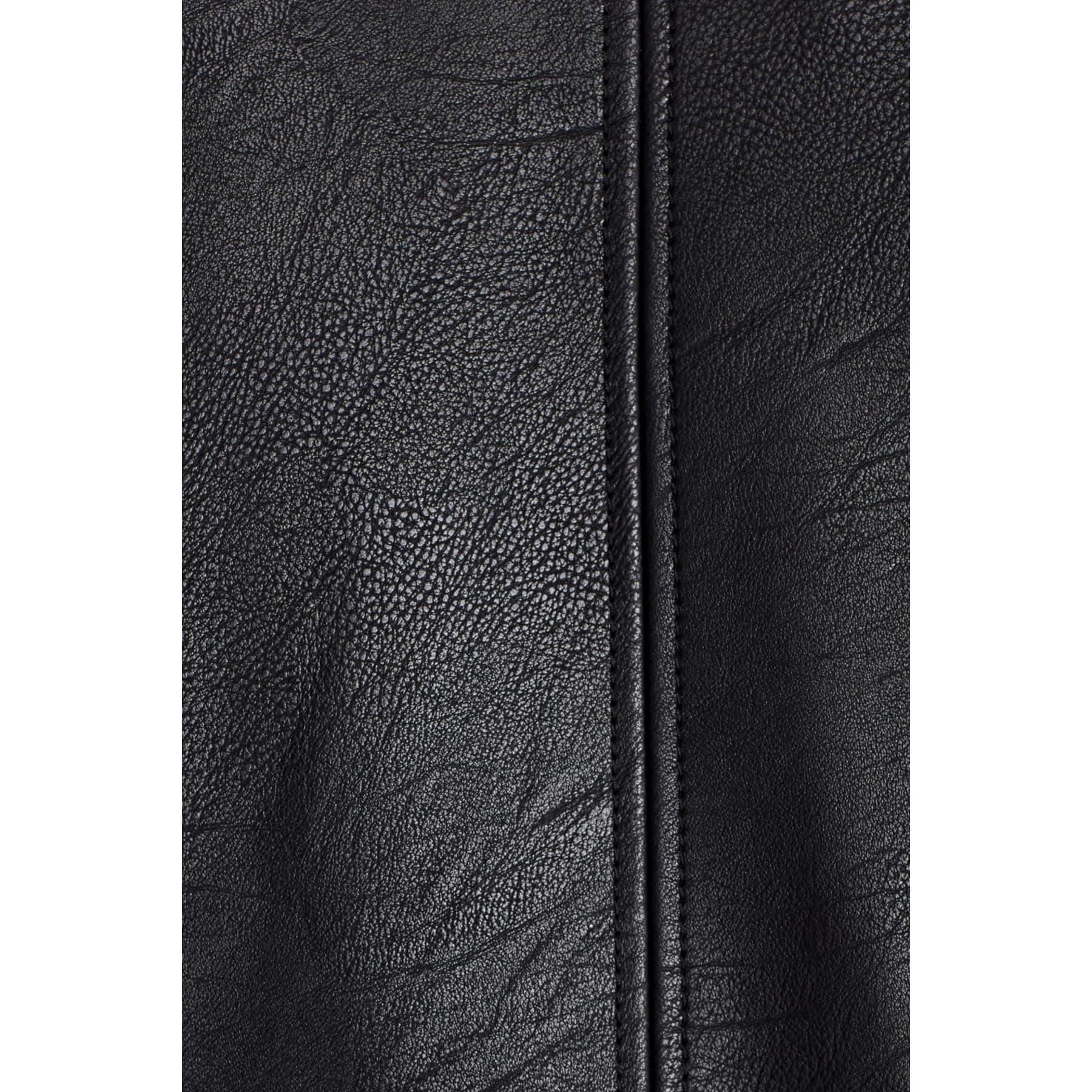 Suni Deri Erkek Siyah Ceket (010206-900)