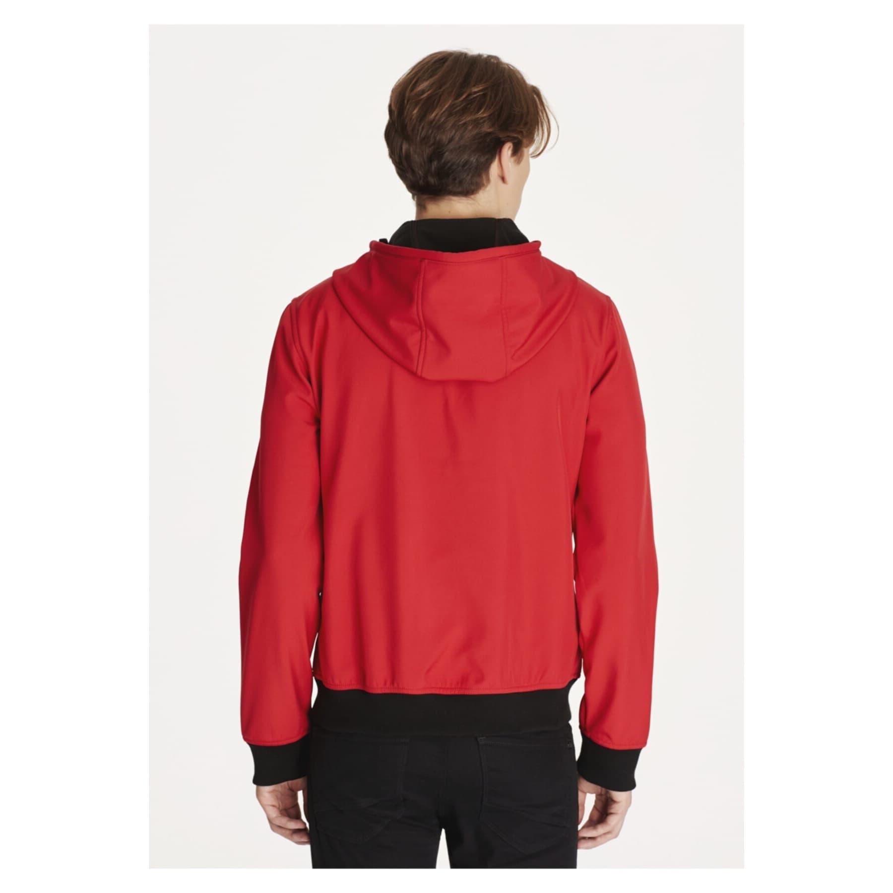 Kapüşonlu Erkek Kırmızı Ceket (010247-30648)