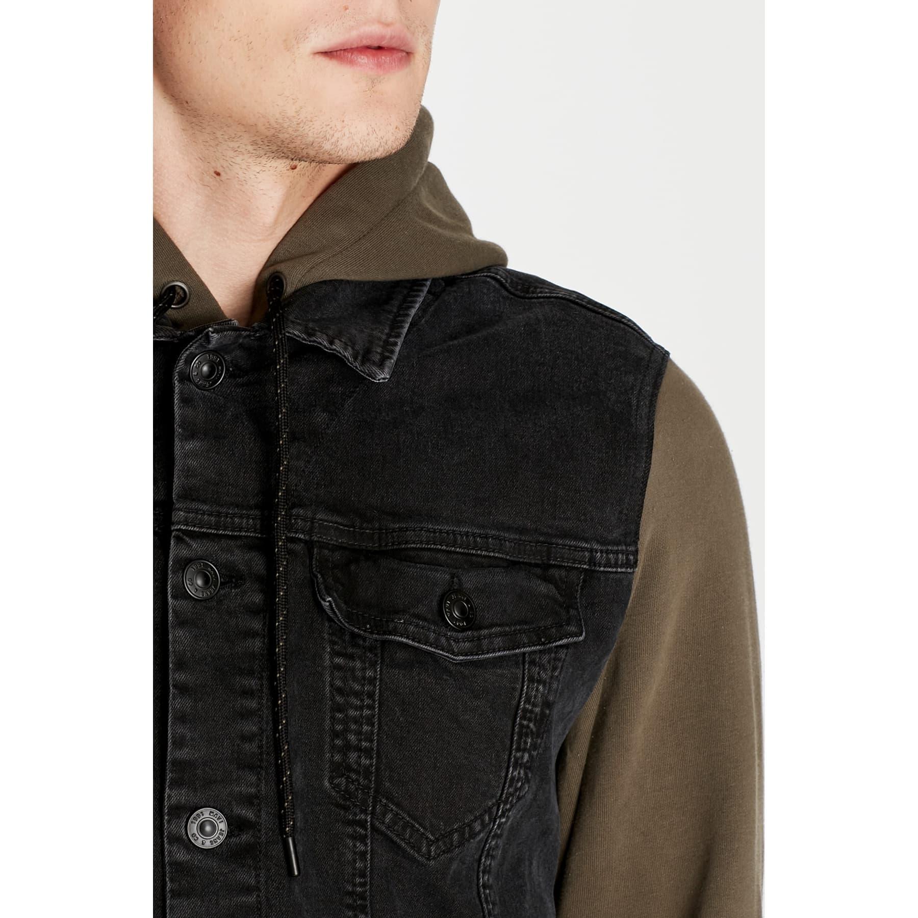 Sam Black Pro Erkek Jean Ceket