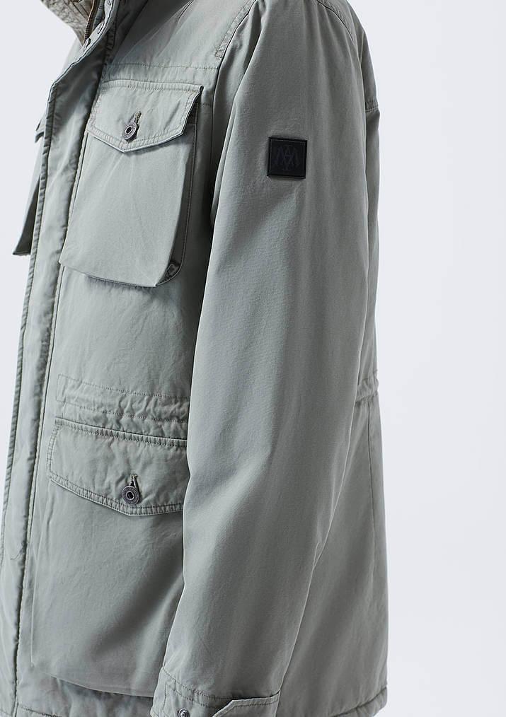 Mavi Jeans Cepli Yeşil Erkek Parka