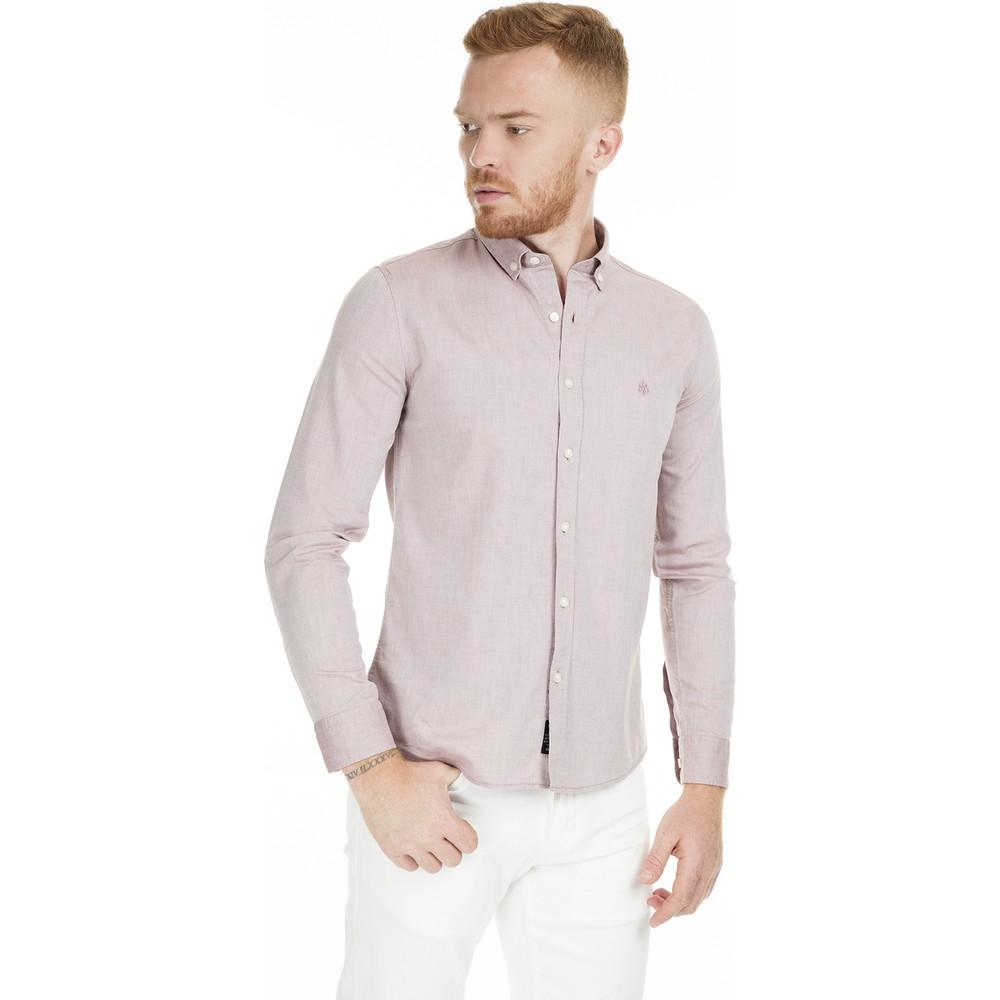 Erkek Bordo Cepsiz Gömlek