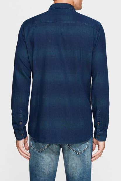 Mavi Jeans Tek Cepli Erkek Yaprak Yeşili Gömlek