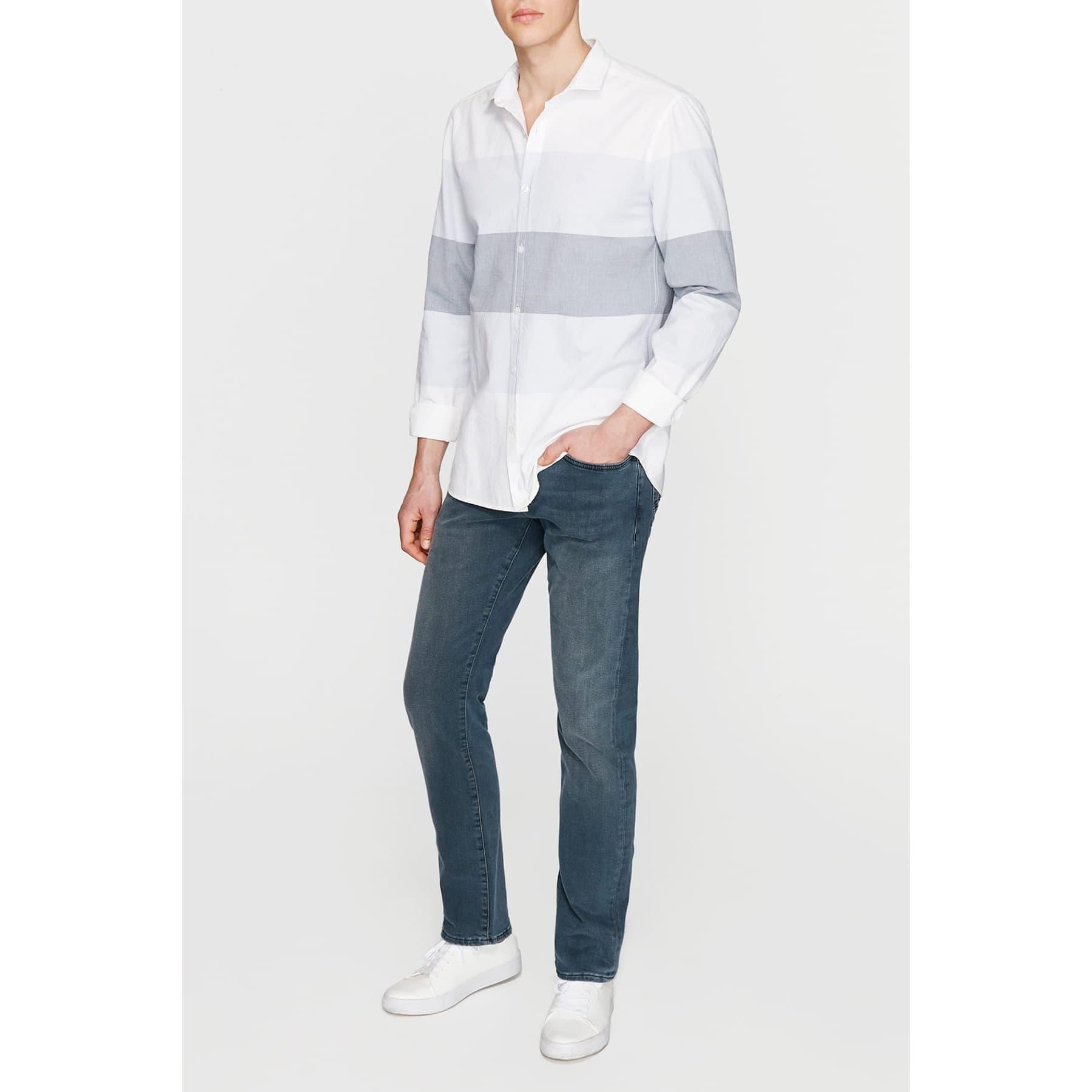 Uzun Kol Gömlek Soft Mavi