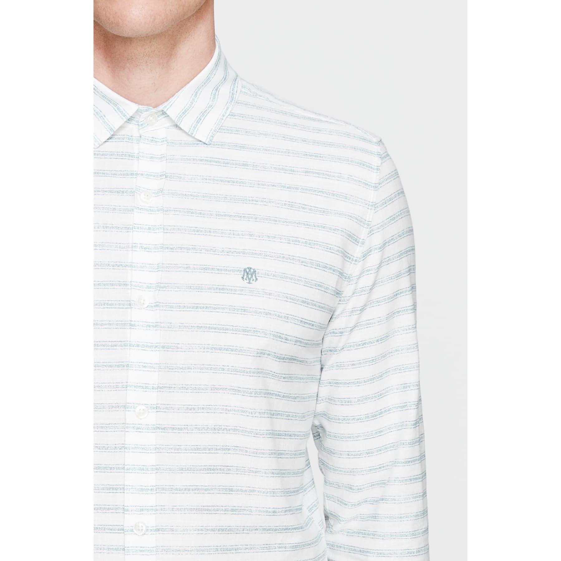 Mavi Jeans Çizgili %100 Pamuk Erkek Gömlek