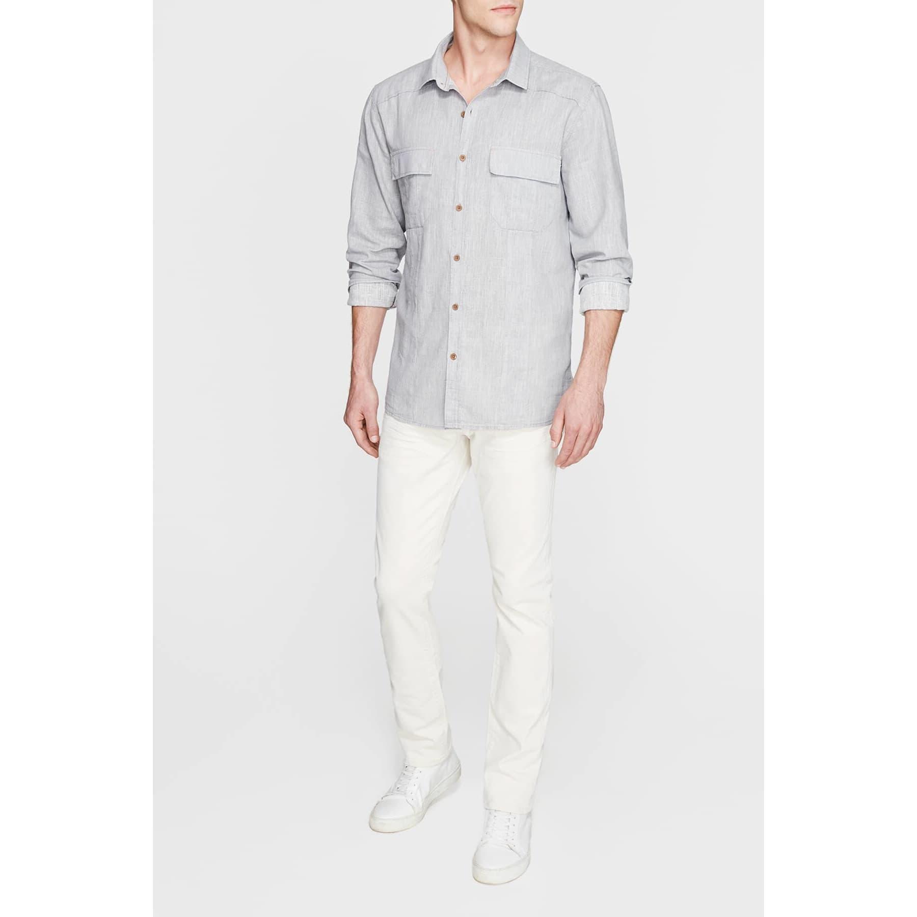 Mavi Jeans Erkek Çift Cepli Kimyon Gömlek