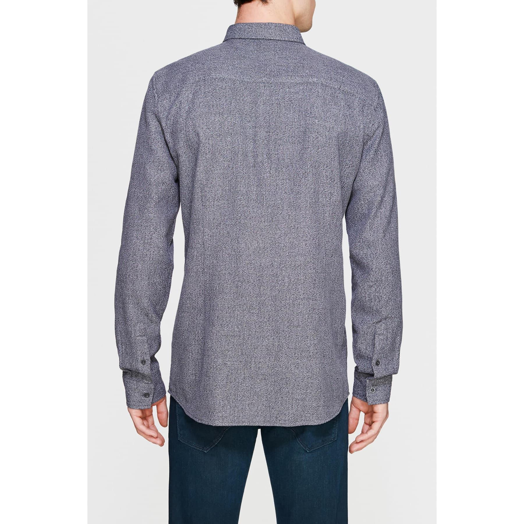 Uzun Kol Gömlek Asfalt Gri