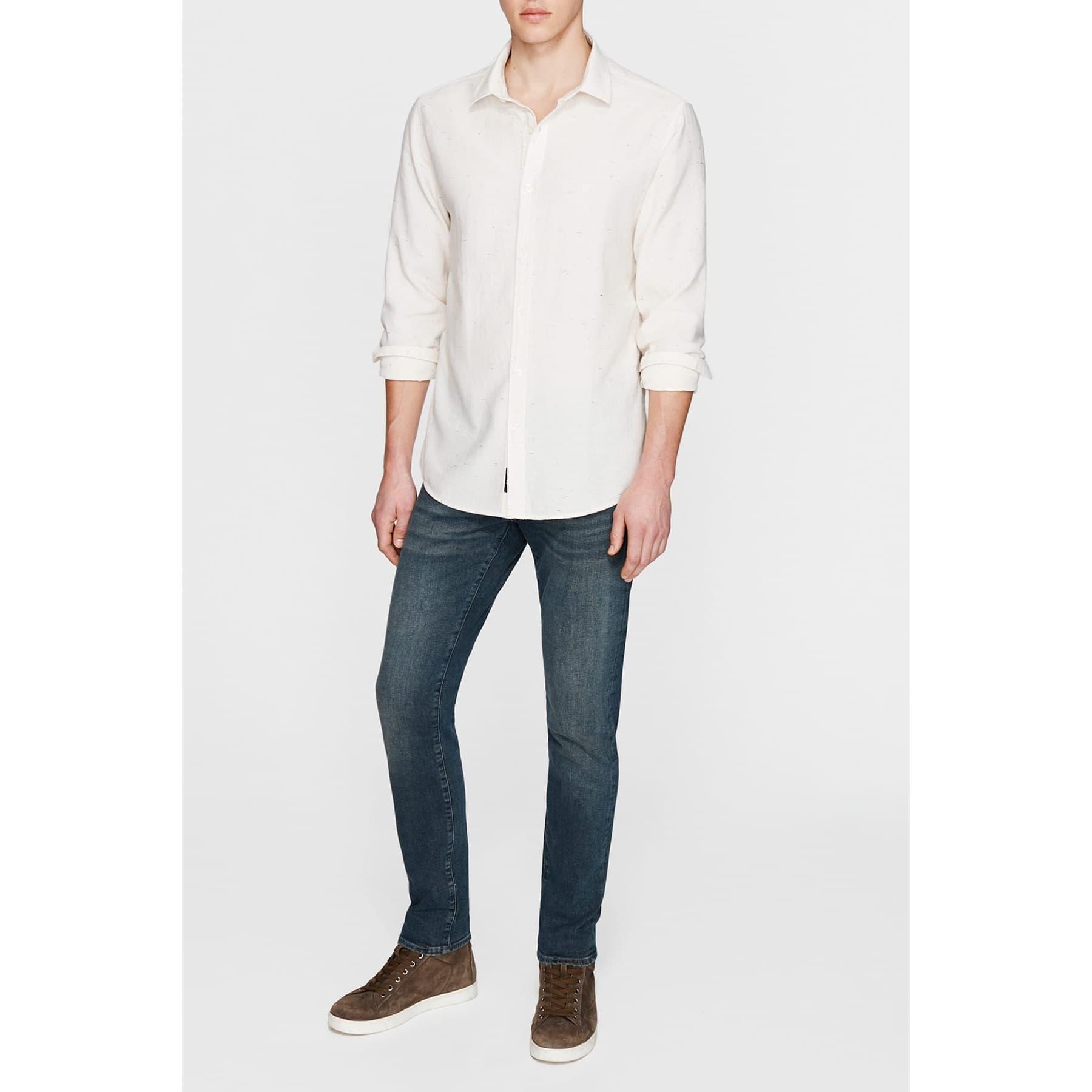 Uzun Kol Gömlek Kırık Beyaz