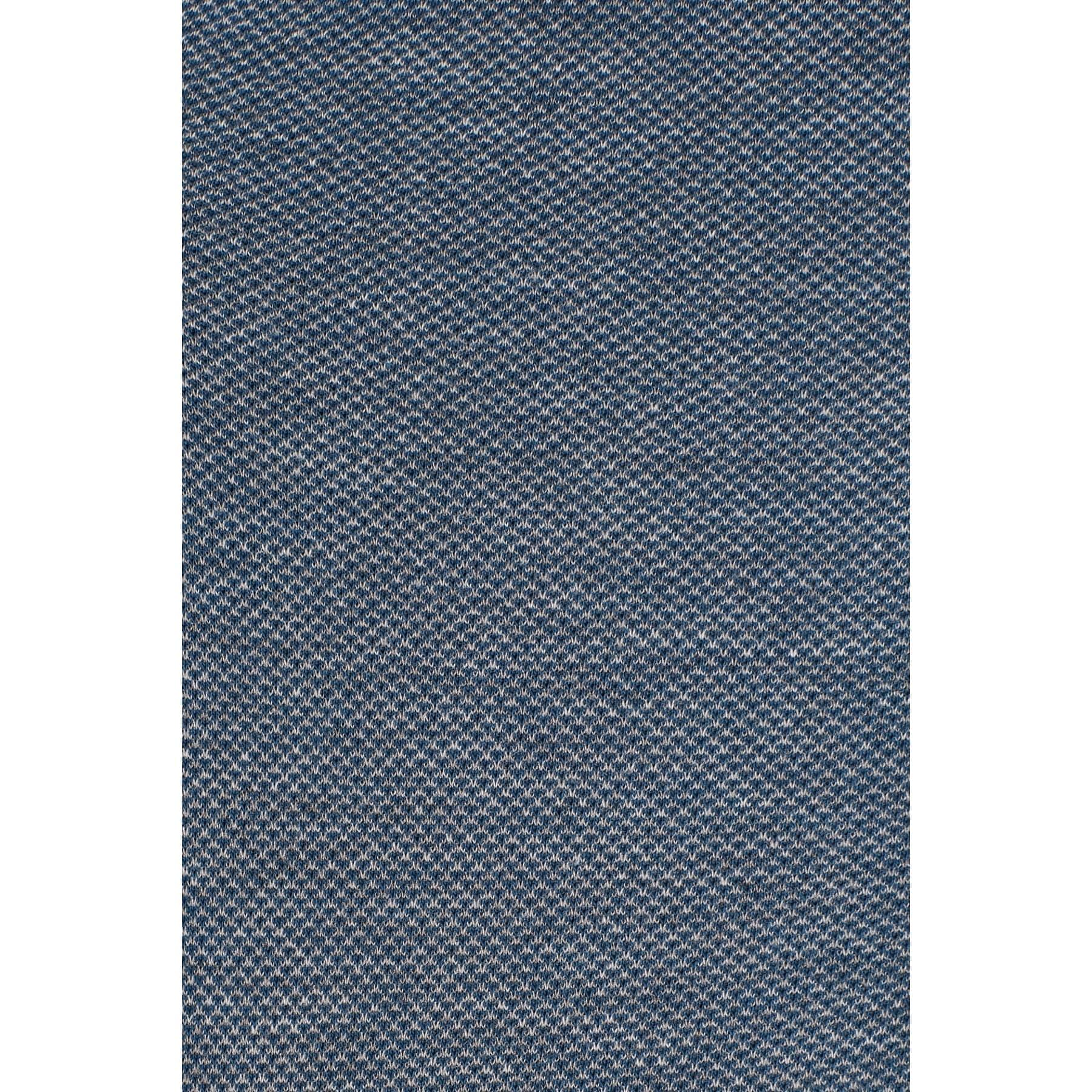 Örme Gömlek Pus Mavi