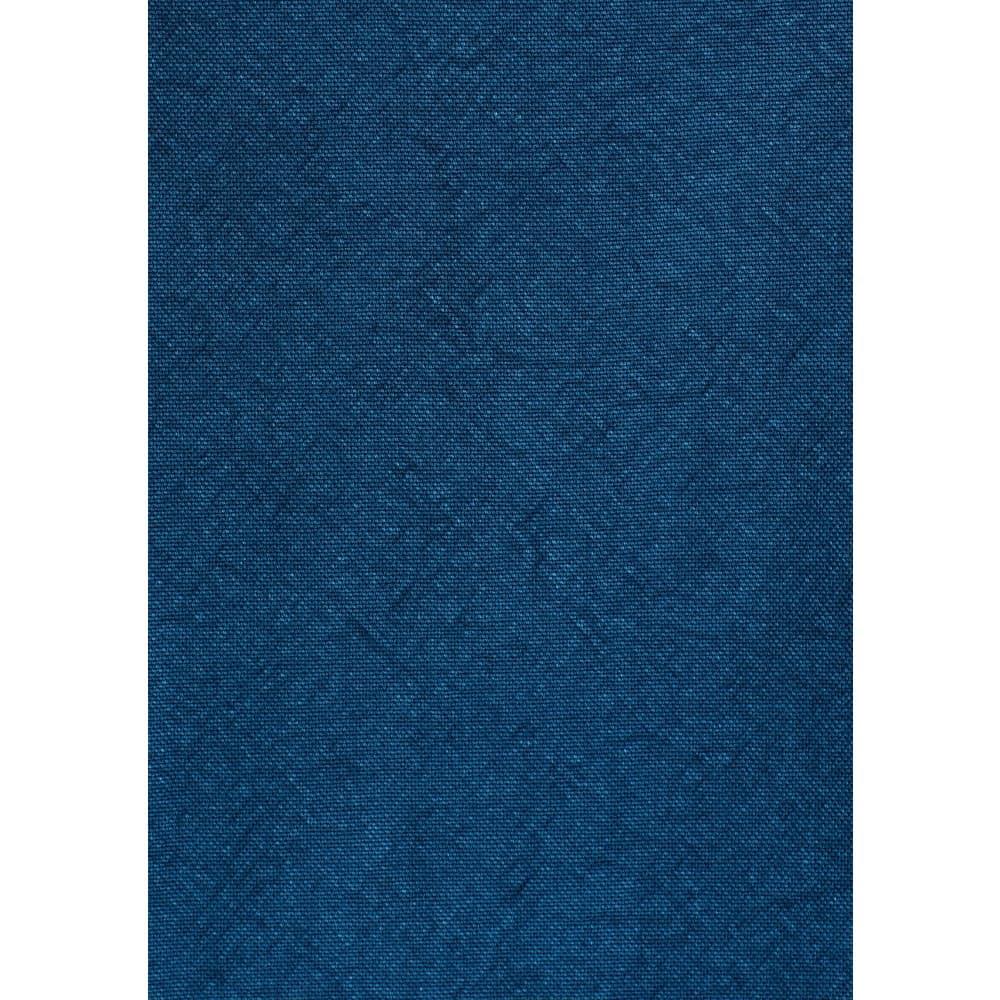 Çift Cepli Erkek İndigo Mavi %100 Pamuk Gömlek
