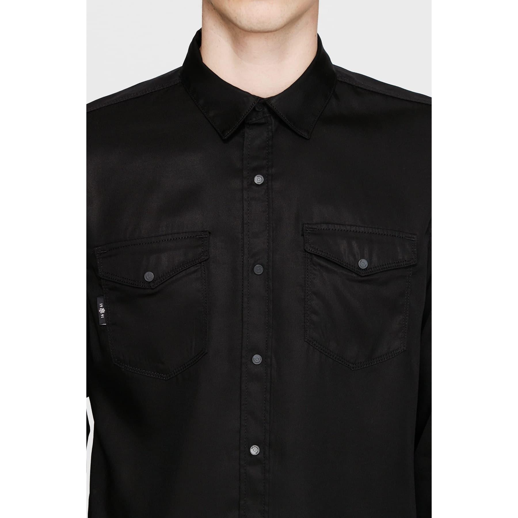 Rio Erkek Siyah Jean Gömlek