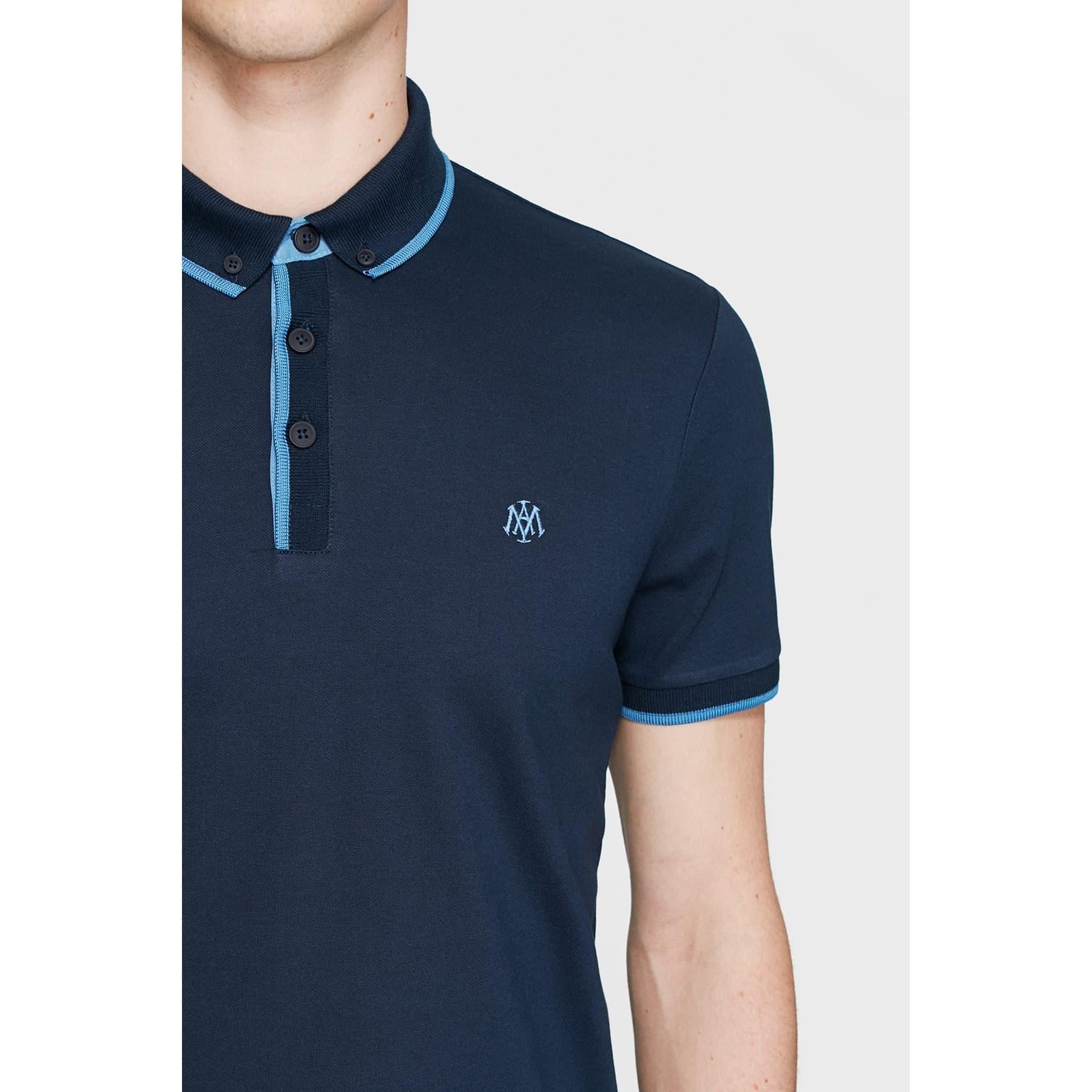 Mavi Jeans Erkek Lacivert Polo Tişört