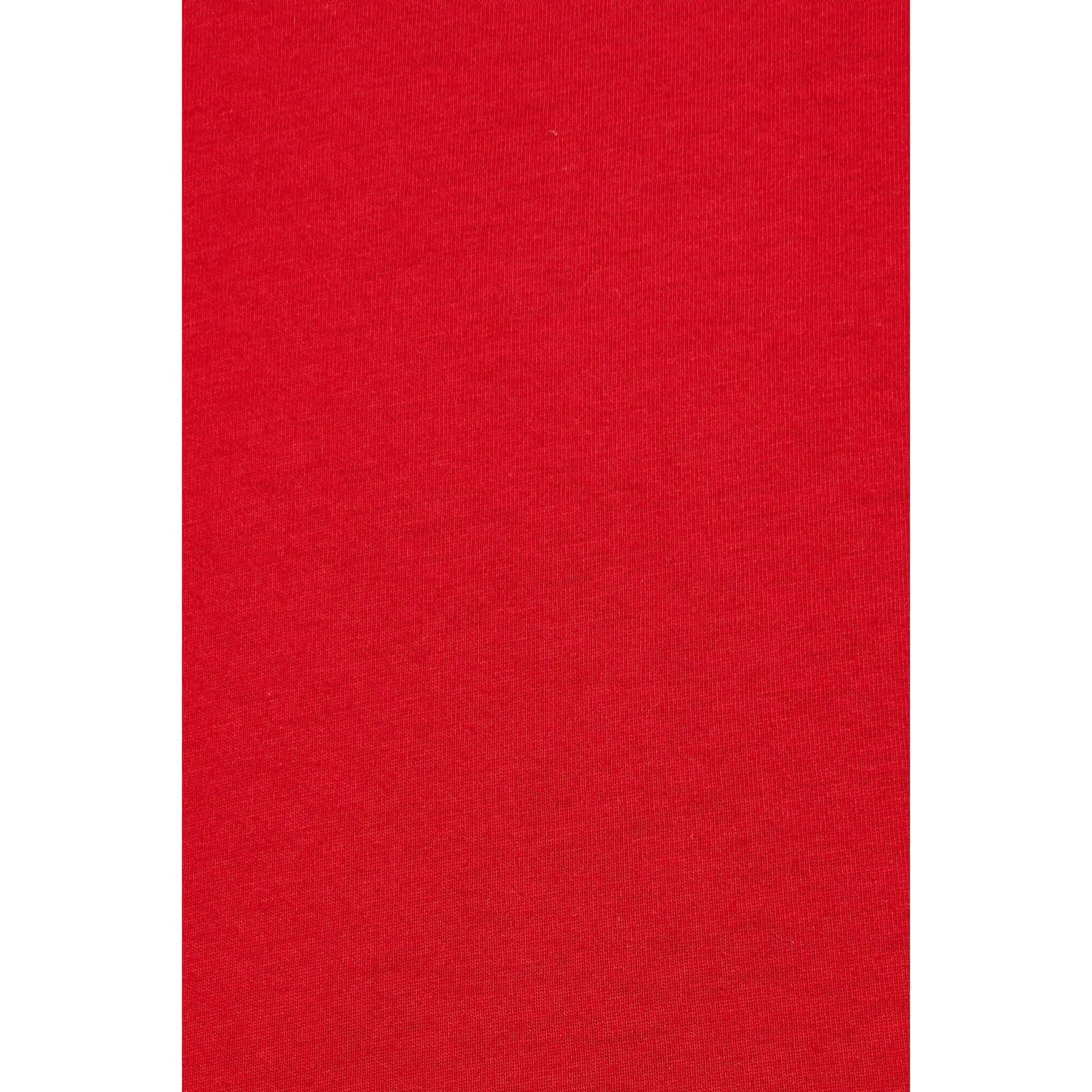 Mavi Erkek Kırmızı Basic Günlük Tişört