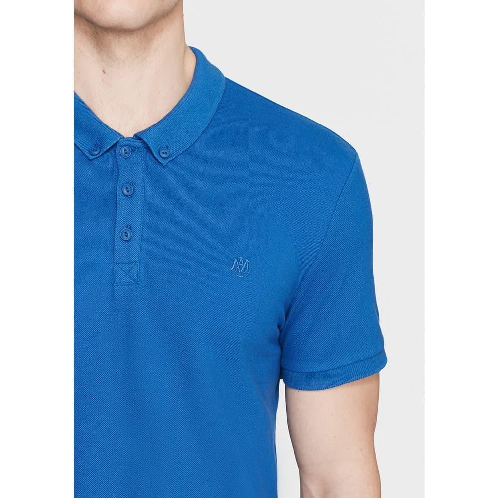 Polo Tişört Parlak Mavi