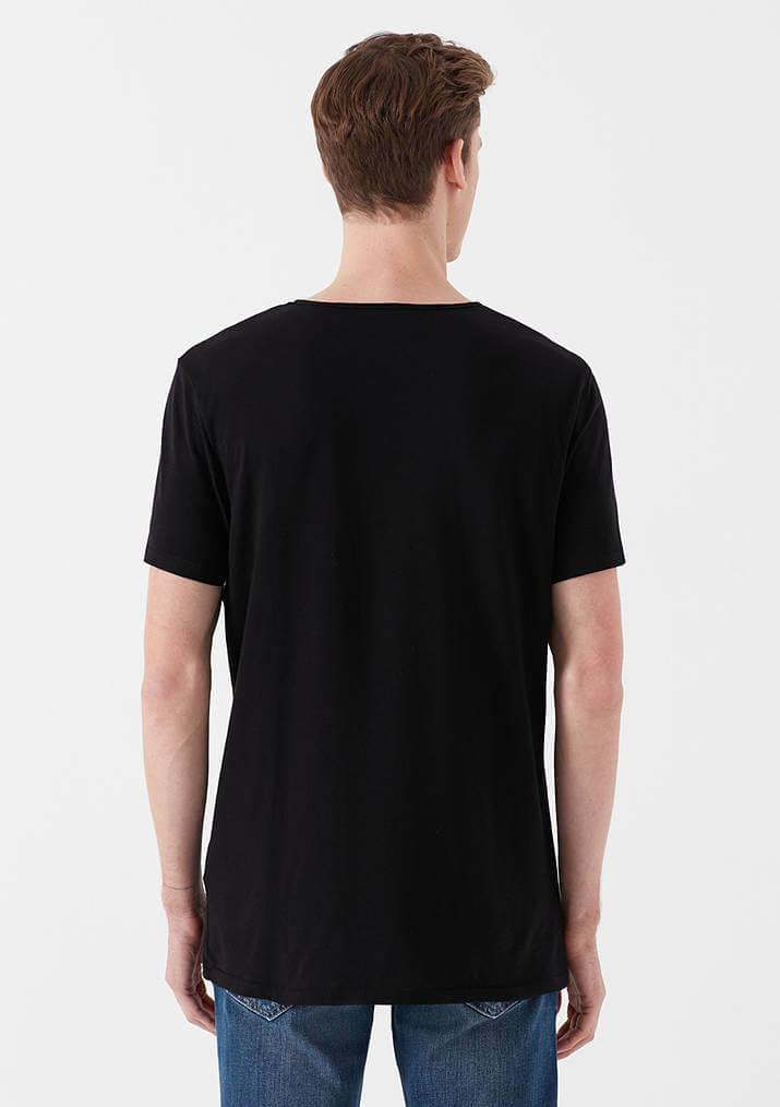 Mavi Jeans Erkek Siyah Basic Tişört