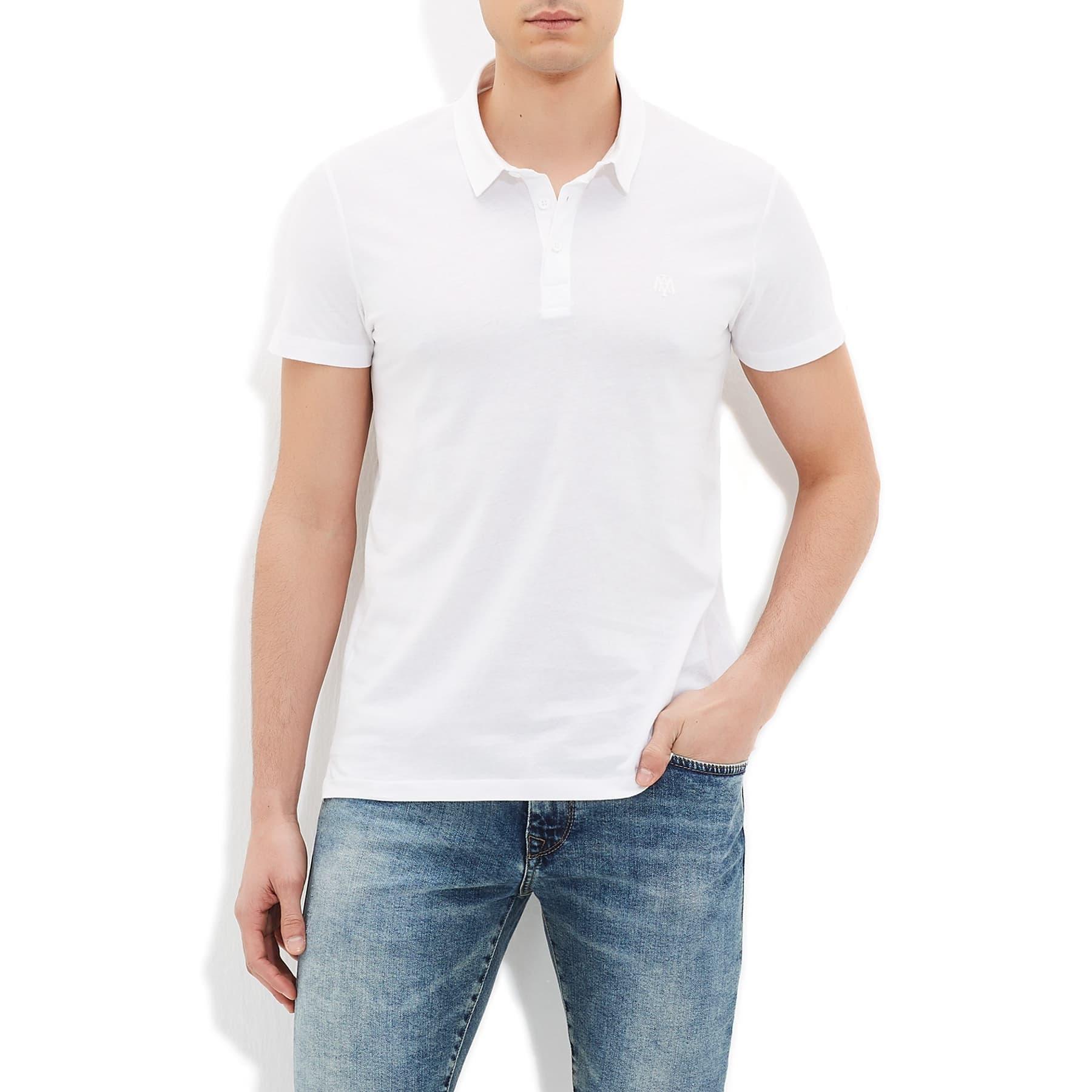 Polo Tisört Beyaz